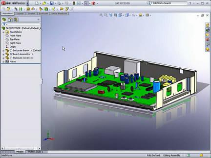SolidWorks装配体中设计钣金件