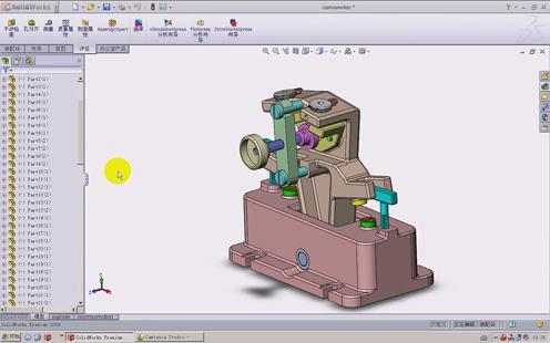 solidworks动画马达设置