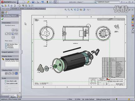 solidworks装配体工程图