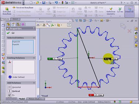solidworks齿轮的绘制方法