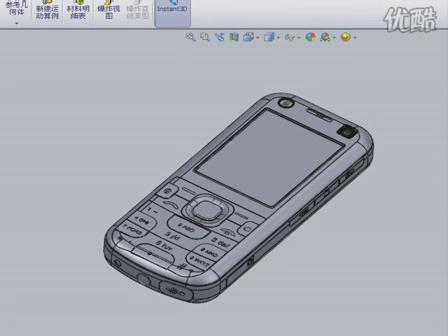 solidworks手机外壳设计