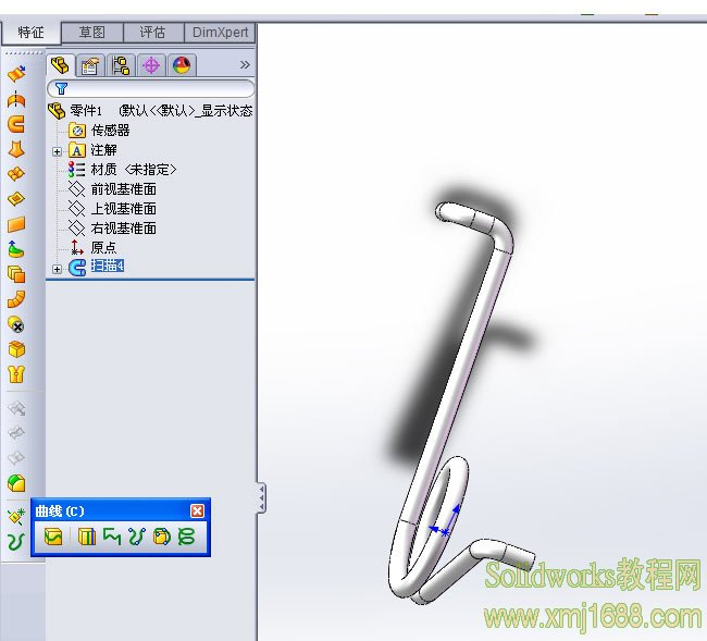 solidworks弹簧画法