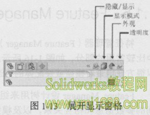 solidworks2013展开显示窗格