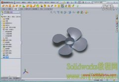 solidworks风扇叶片建模
