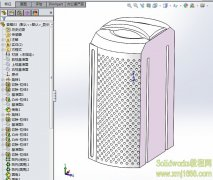 SolidWorks音响3D模型